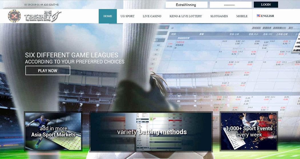 tbsbet homepage login member register agents