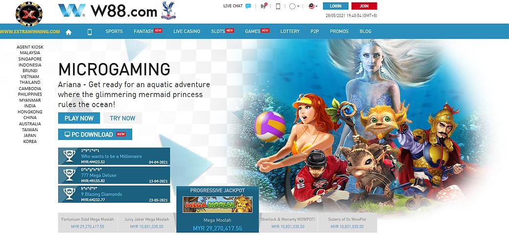 w88 slot games malaysia singapore indonesia brunei vietnam thailand india myanmar hongkong china australia