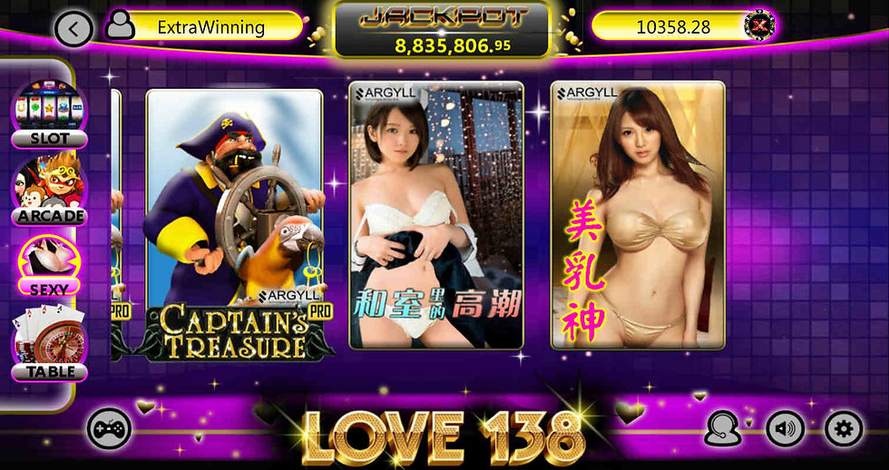 love138 sexy mobile casino slots download apk android ios iphone