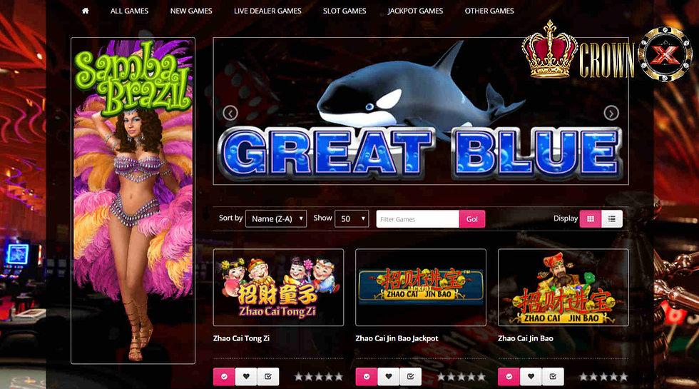 m.crw128, crw128, crown casino, malaysia, singapore, brunei, mobile slot games