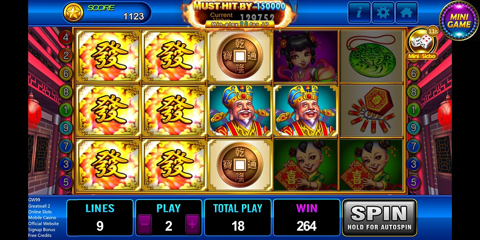 gw99, greatwall 2, mobile casino, offici