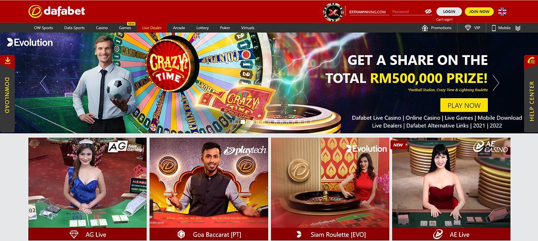 dafabet live casino, online casino, live games, mobile download, live dealers, dafabet alternative links, 2021, 2022