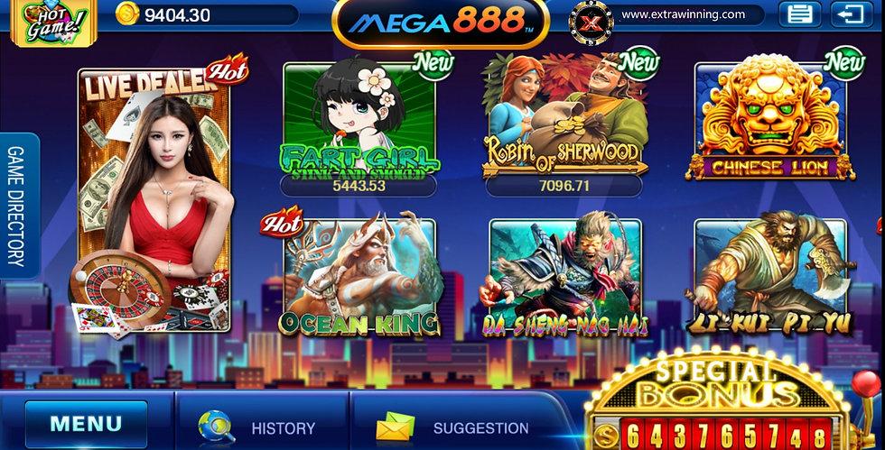 mega888 casino slot games download 2021 2022 website