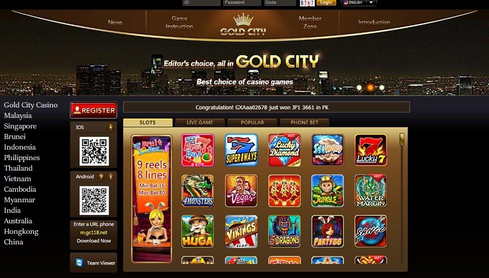goldcity casino malaysia singapore indon