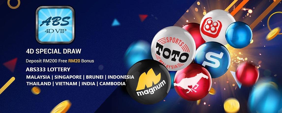 abs333 4d, malaysia, singapore, indonesia, brunei, thailand, vietnam, india, lottery