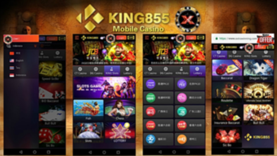 online mobile casino slots king855 malay