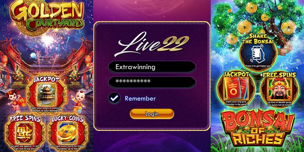 Live22 Malaysia Singapore Brunei indonesia login download apk