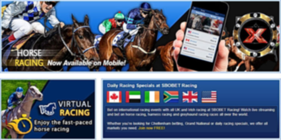 sbobet horse racing Malaysia Singapore B