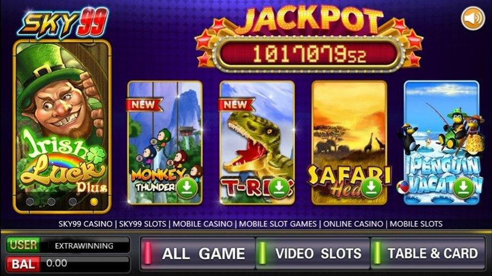 sky99 casino, sky99 slots, mobile casino, mobile slot games, online casino, mobile slots