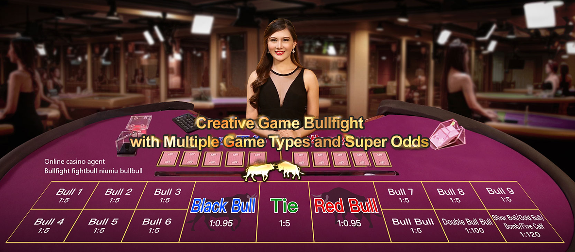 online casino agent, bullfight, fightbul