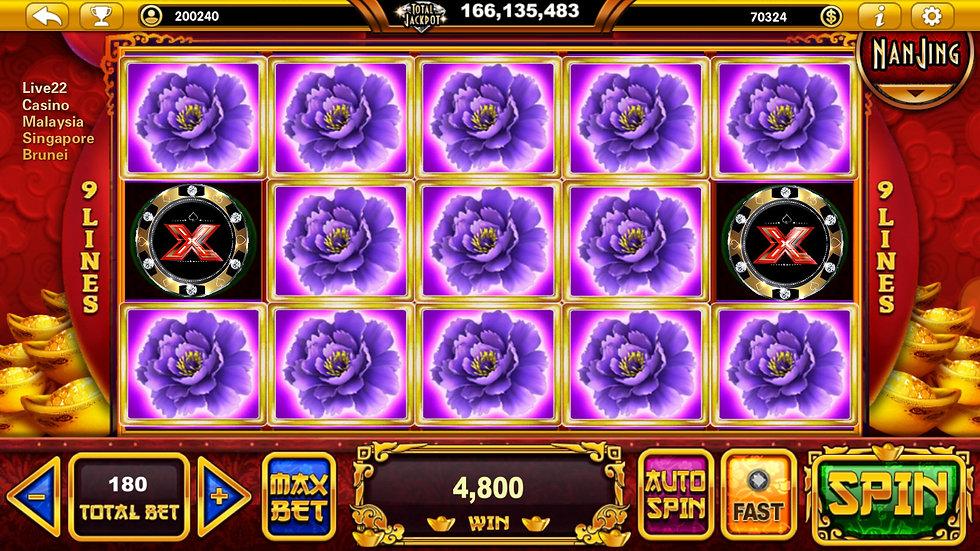 Live22 mobile casino malaysia singapore