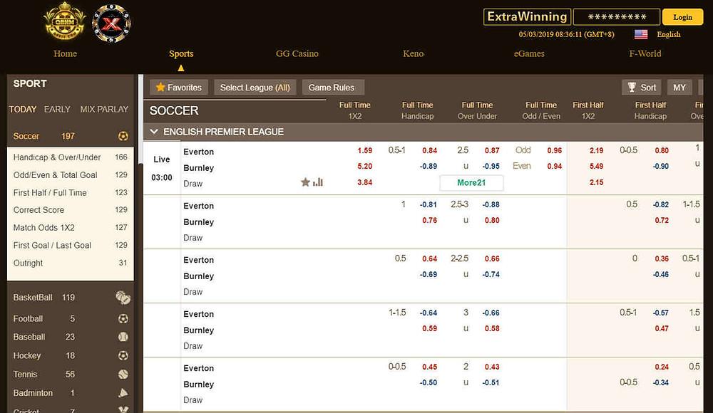 QB838 Sports betting