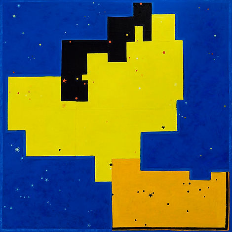 Maclean, Art, Painting, Constellations, signs