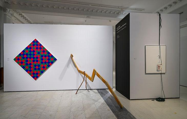 Maclean, Molinari, Ayot, painting, sculpture, conceptual art