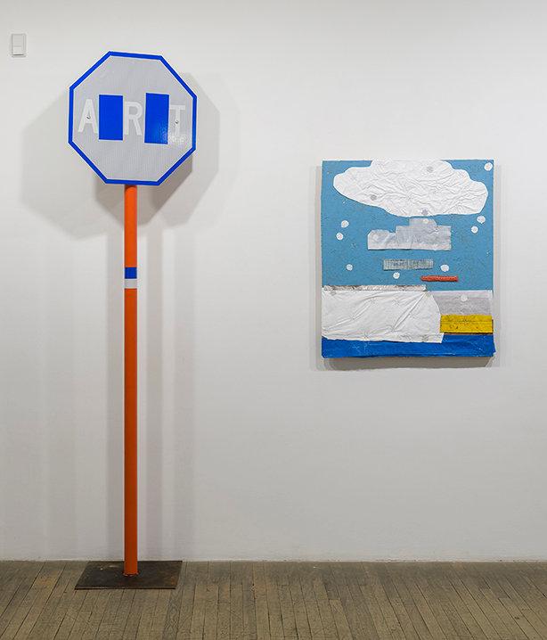 Maclean, Art, Sculpture, Assemblage, signs