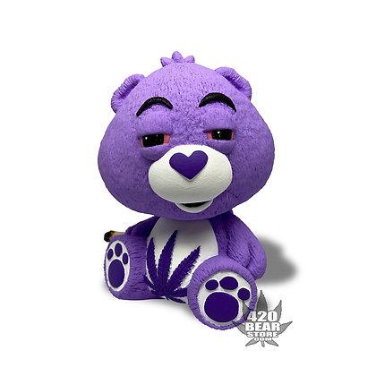"420 Bear Medium 4.5"" Purple Princess"