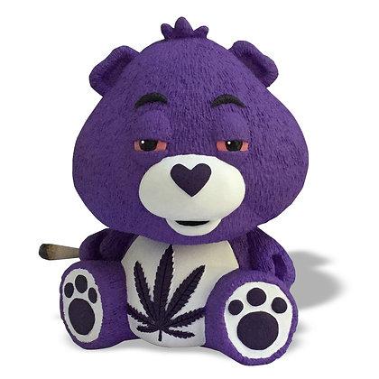 "420 Bear Large 7"" Purple Kush"