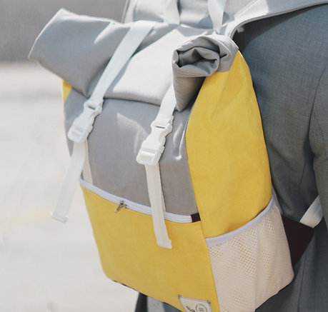 Back Pack Yellow