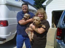 Benji & Ira adopted September 2012