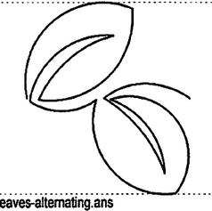 Leaves Alternating