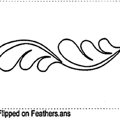 Flipped on Feathers
