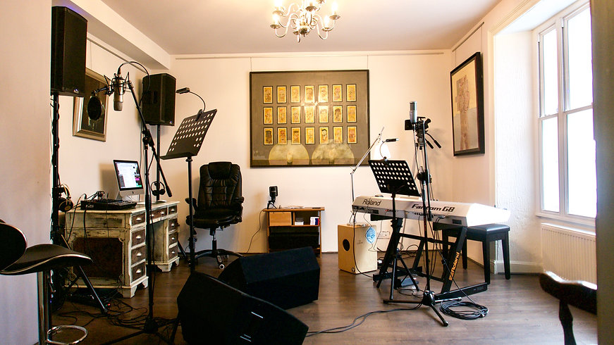 Chase Valentin Bardo music room