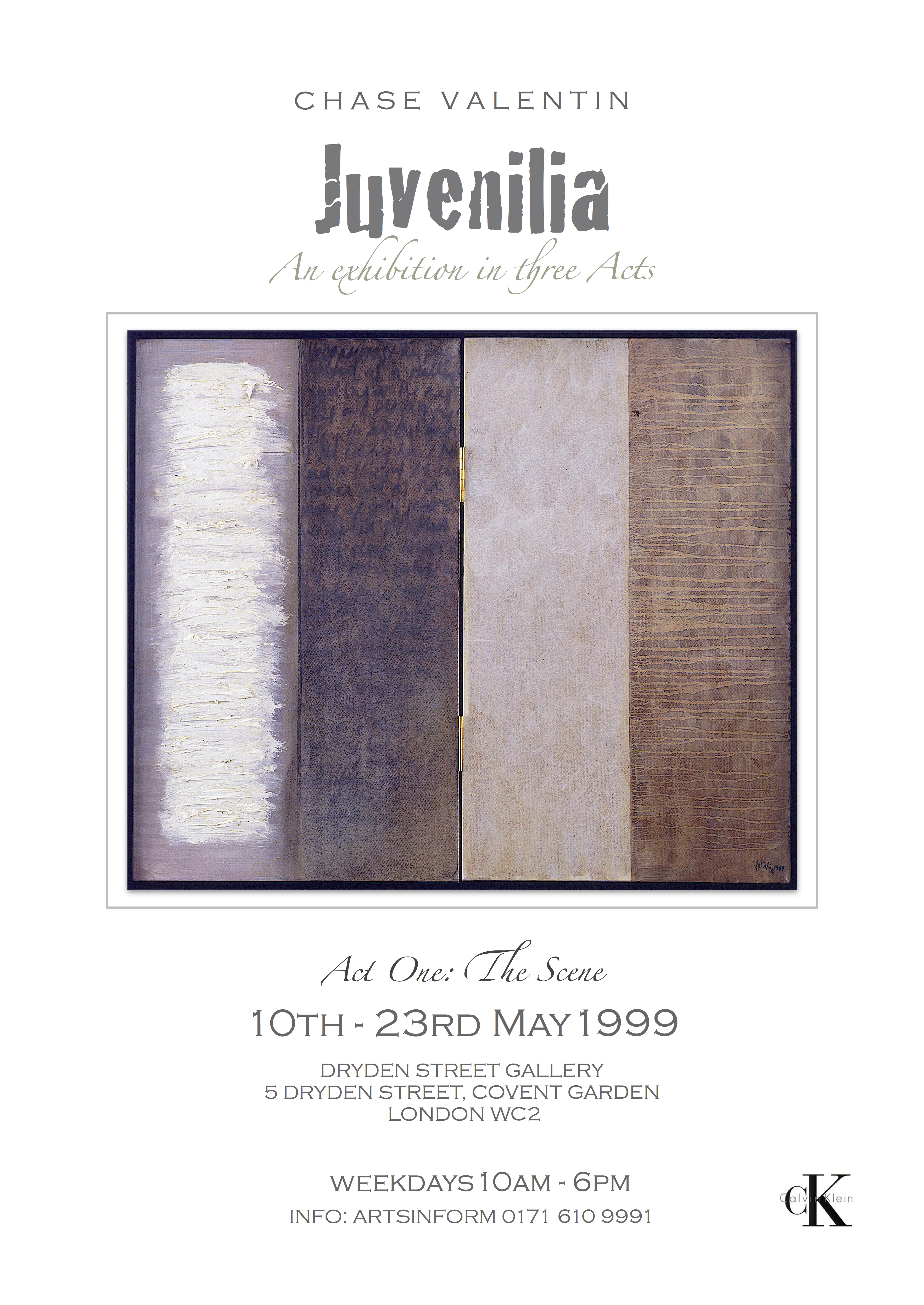 Juvenilia Act 1 1999