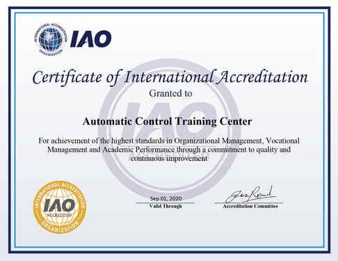 IAO Accreditations