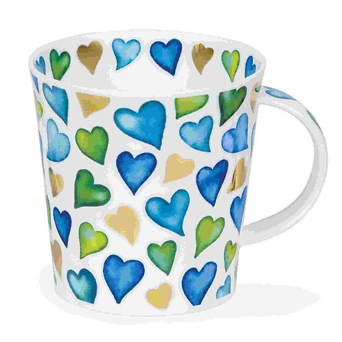 "DUNOON Cairngorm ""Love Hearts"" blau"