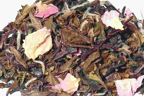 Weißer Tee Johannisbeer-Himbeer-Rose Biotee
