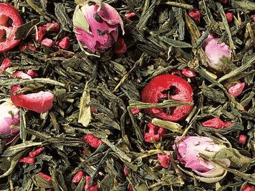 Sencha Preiselbeer-Rose