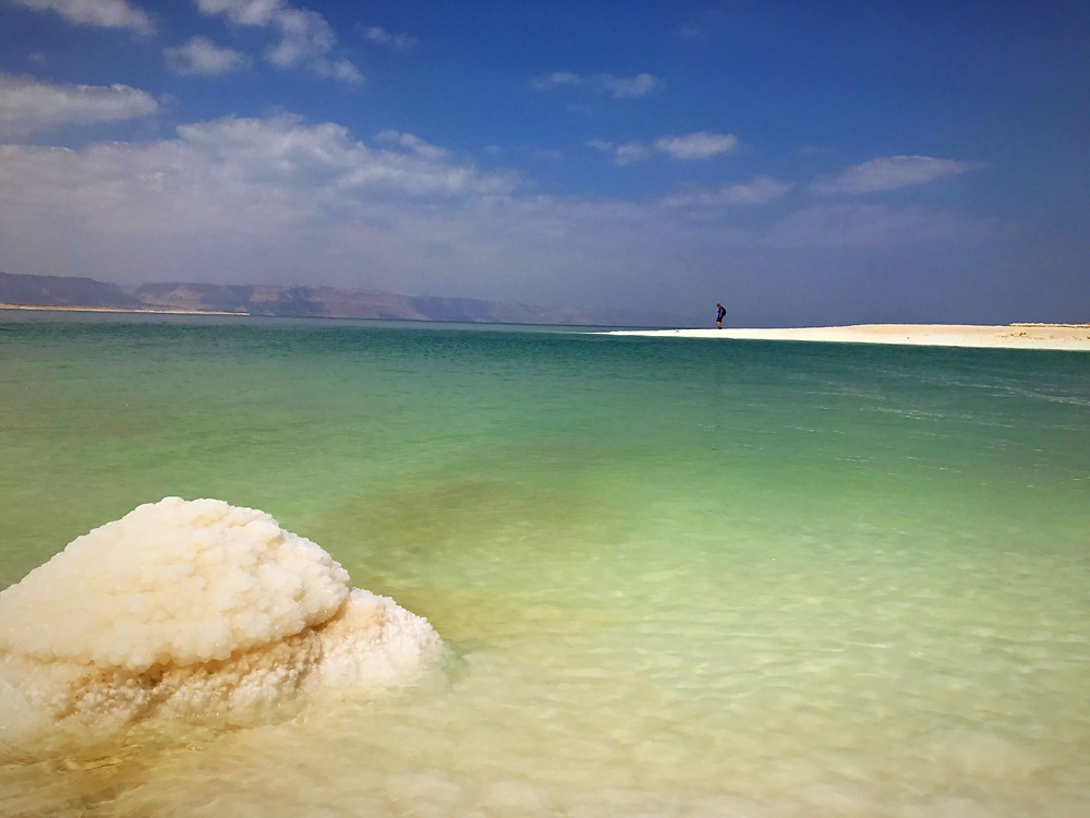 Dead Sea o Mar Morto na Jordânia