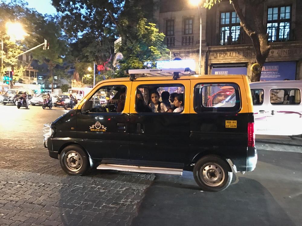 taxi em mumbai