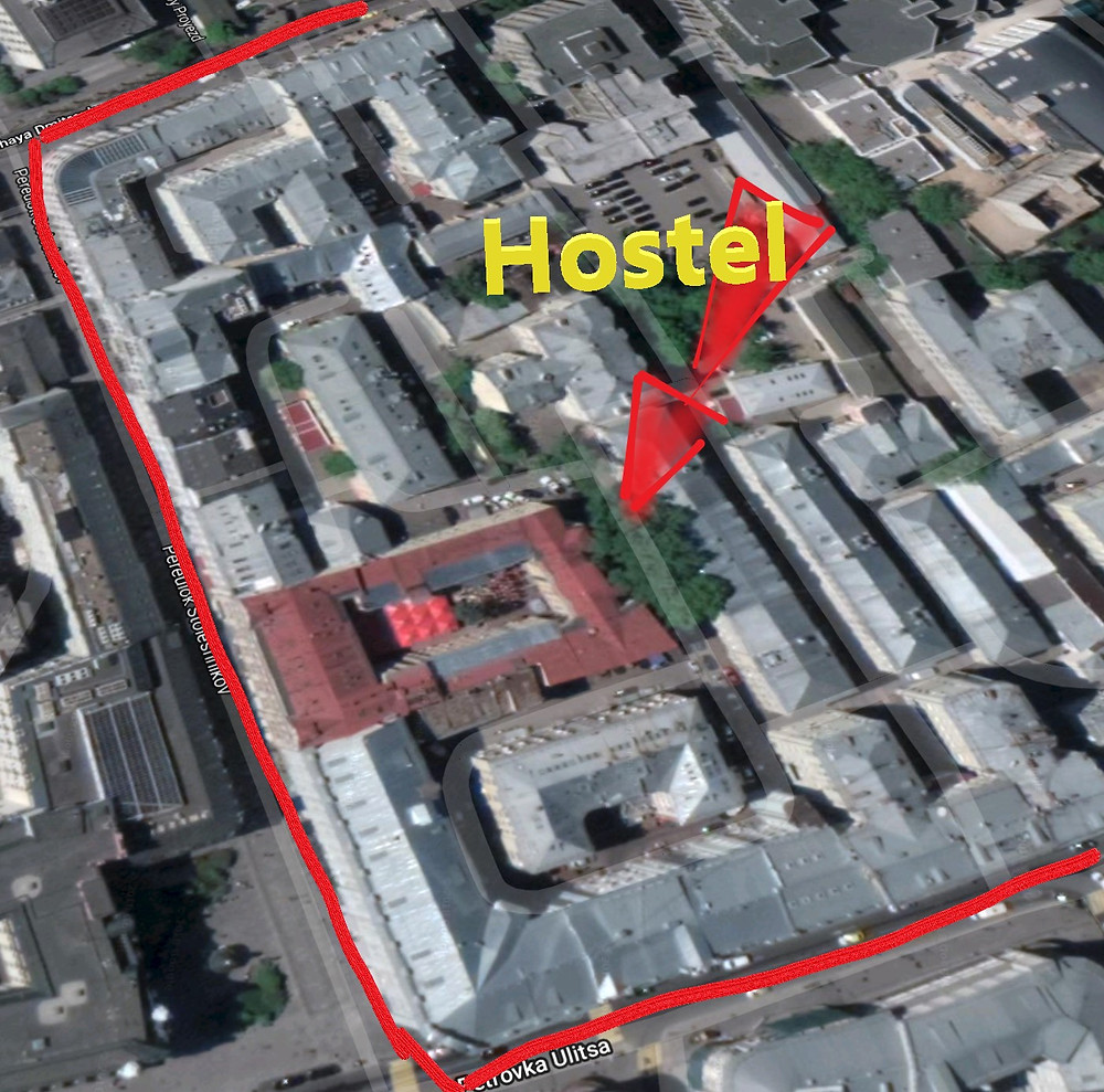 Hostel na Rússia