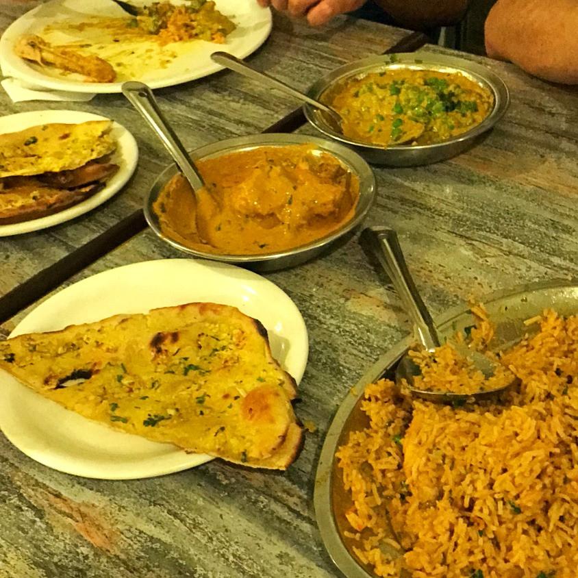 Chicken Biryani o mais tradicional prato da Índia