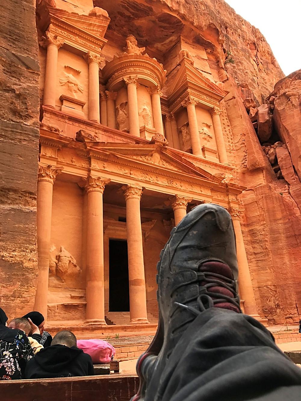 Petra na Jordânia