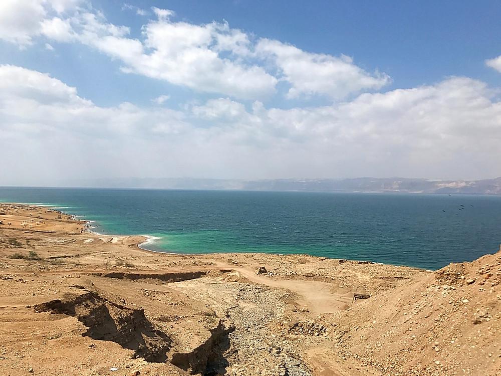 Dead Sea Road na Jordânia