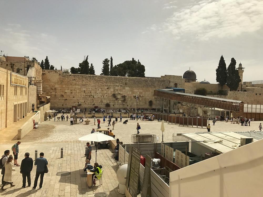 Jerusalém e o muro das lamentações