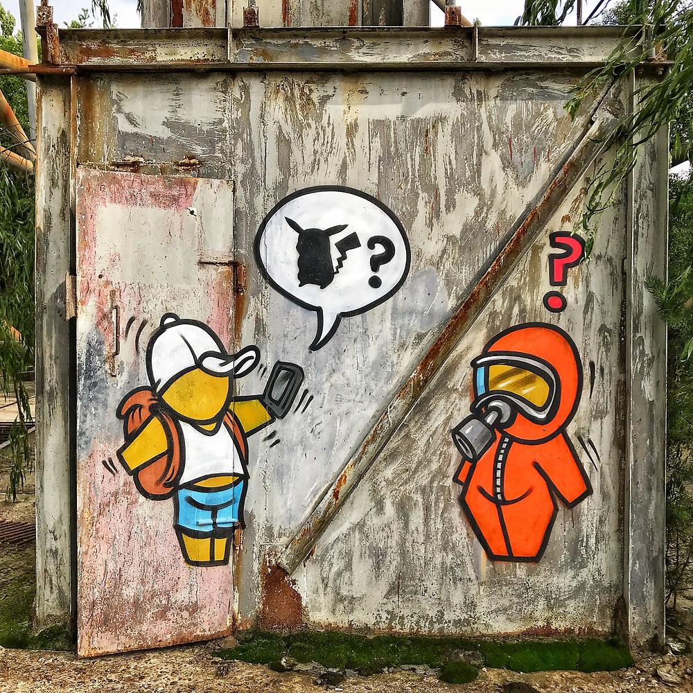 Radar duga graffiti