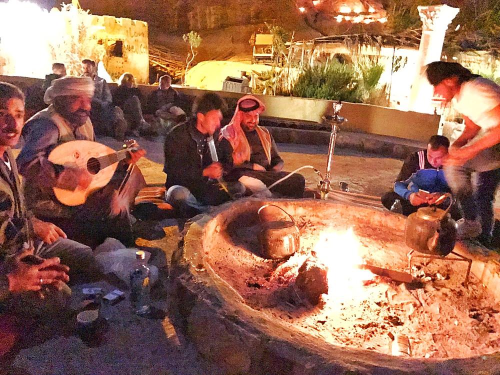 Beduin Camp na Jordânia
