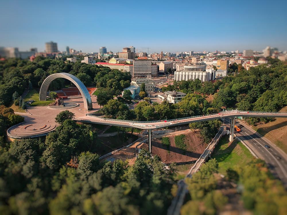 Arco da Amizade Kiev