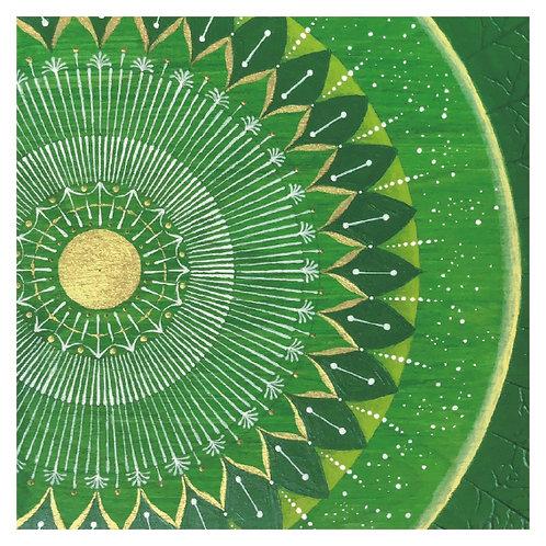 二つの太陽 - オモテ -- Dos Soles - frente【 Card 】