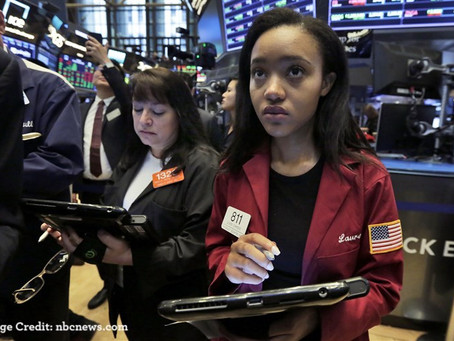 U.S. Markets chart downward trend following U.S. financial regulators' policy statements