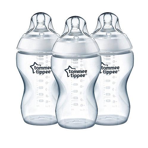 Kit com 3 Mamadeiras Tommee Tippee