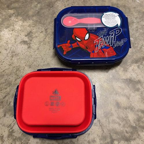 Kit lanche Silicone Homem Aranha - Disney