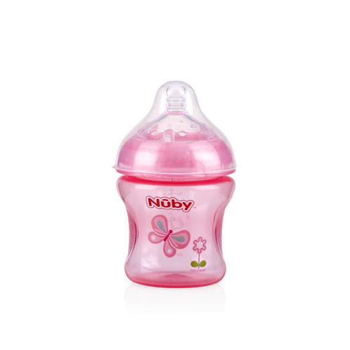 Mamadeira Nuby Natural Touch™ 180ml