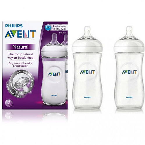 Kit Avent Mamadeira 330ml