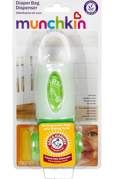 Kit Sacos para fralda Munchkin - 24 sacos perfumados