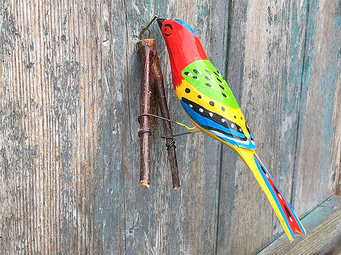 Bird on a branch No.1