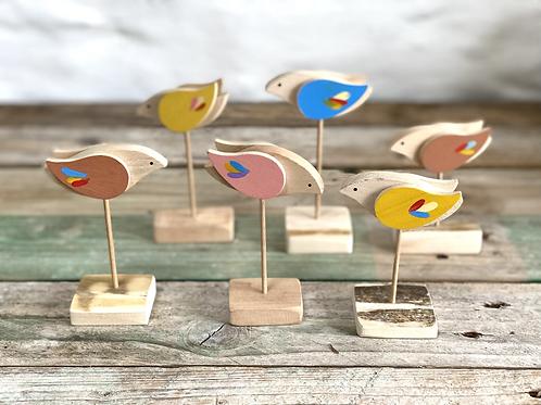 Natalia wooden birds